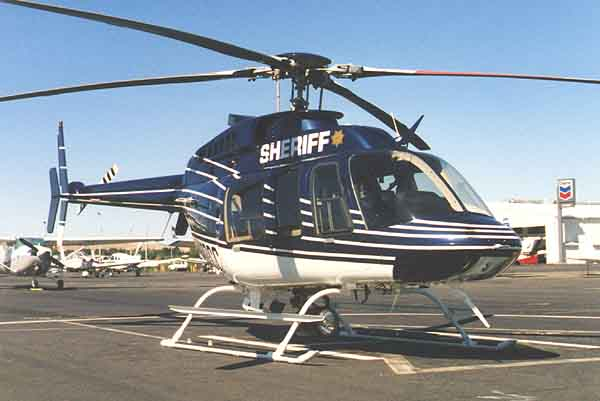 Helispot Photo #121 : Bell 407 : N407CC : Contra Costa County Sheriffs Department : Helicopter Adventures