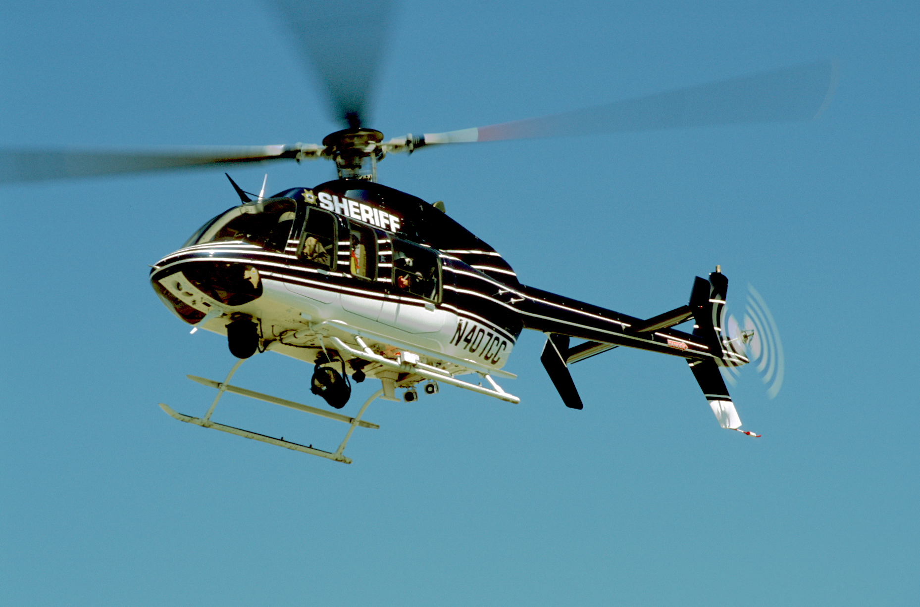 Helispot Photo #2166 : Bell 407 : N407CC : Contra Costa County Sheriffs Department : Helicopter Adventures