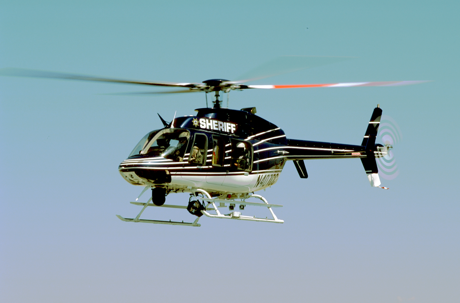 Helispot Photo #2167 : Bell 407 : N407CC : Contra Costa County Sheriffs Department : Helicopter Adventures