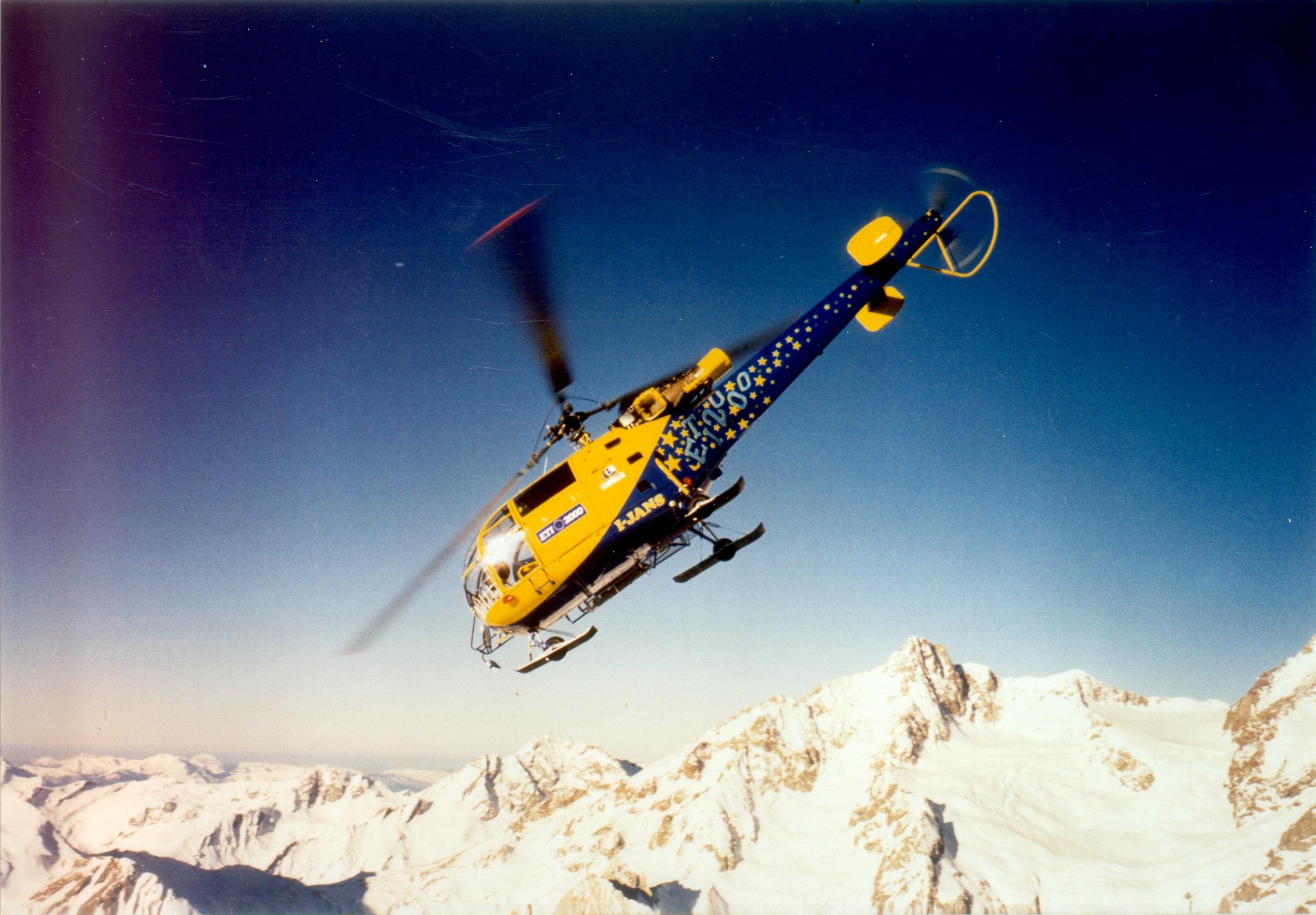 Helispot Photo #2800 : Aerospatiale SA316B Allouette III : I-JANS : ETI 2000
