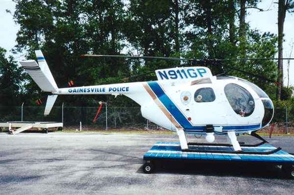 Helispot Photo #3107 : Hughes OH6A Cayuse : N911GP : Gainesville Police Department