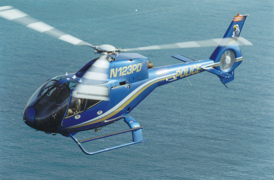 Helispot Photo #3937 : Eurocopter EC120B Colibri : N123PD : Costa Mesa/Newport Beach Police Department